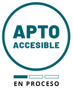 Logo Apto Accesible: estado en proceso